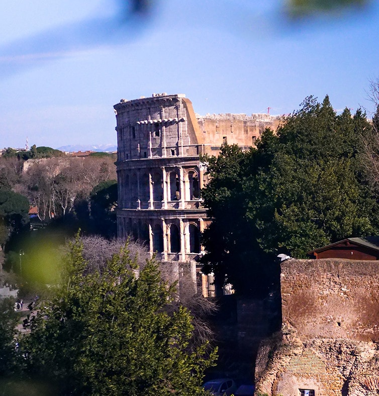 The great beauty of the Colosseum